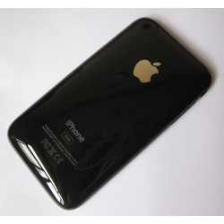 Iphone 3G back cover zwart 8GB