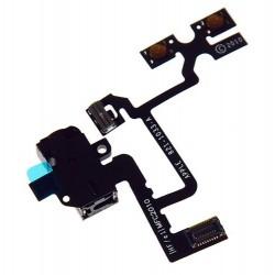 iPhone 4 headphone jack zwart