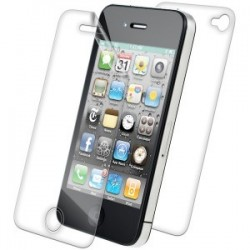 Iphone 4 & 4S screen protector 2 in 1