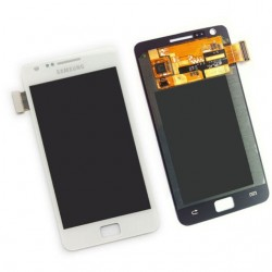 Samsung Galaxy S2 lcd display / scherm Wit