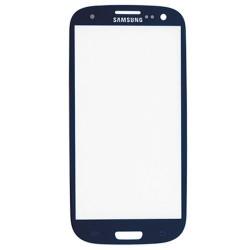 Samsung S4 Touchscreen / glas donker blauw