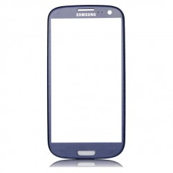 Samsung S3 mini Touchscreen / glas blauw