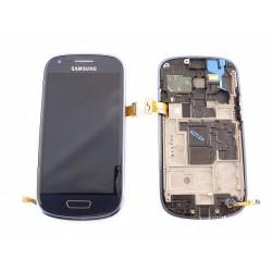 amsung S3 mini LCD + Touchscreen blauw