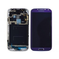 Samsung S4 LCD + touchscreen compleet paars