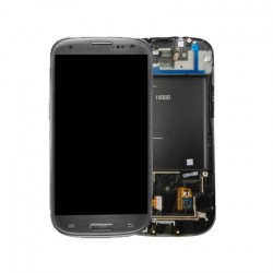 Samsung S3 LCD + touchscreen compleet wit