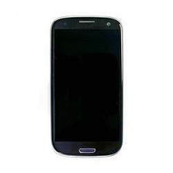 Samsung S3 LCD + touchscreen compleet zwart