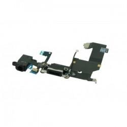 Iphone 5 Audio Dock Antenna Mic Flex Kabel Zwart