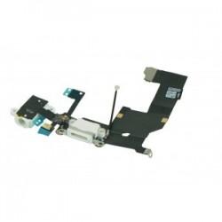 Iphone 5 Audio Dock Antenna Mic Flex Kabel Wit